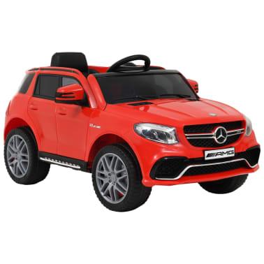vidaXL Coche para niños Mercedes Benz GLE63S plástico rojo[1/12]