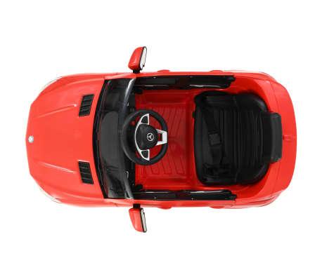 vidaXL Coche para niños Mercedes Benz GLE63S plástico rojo[5/12]