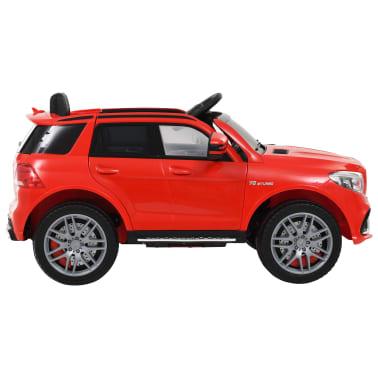 vidaXL Coche para niños Mercedes Benz GLE63S plástico rojo[2/12]