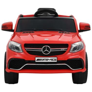 vidaXL Coche para niños Mercedes Benz GLE63S plástico rojo[3/12]