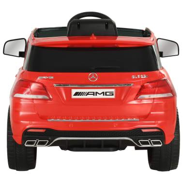 vidaXL Coche para niños Mercedes Benz GLE63S plástico rojo[4/12]