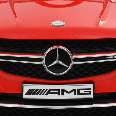vidaXL Coche para niños Mercedes Benz GLE63S plástico rojo[7/12]