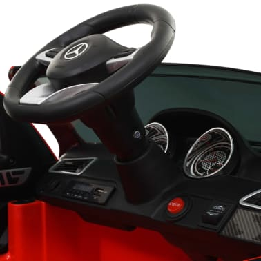 vidaXL Coche para niños Mercedes Benz GLE63S plástico rojo[10/12]