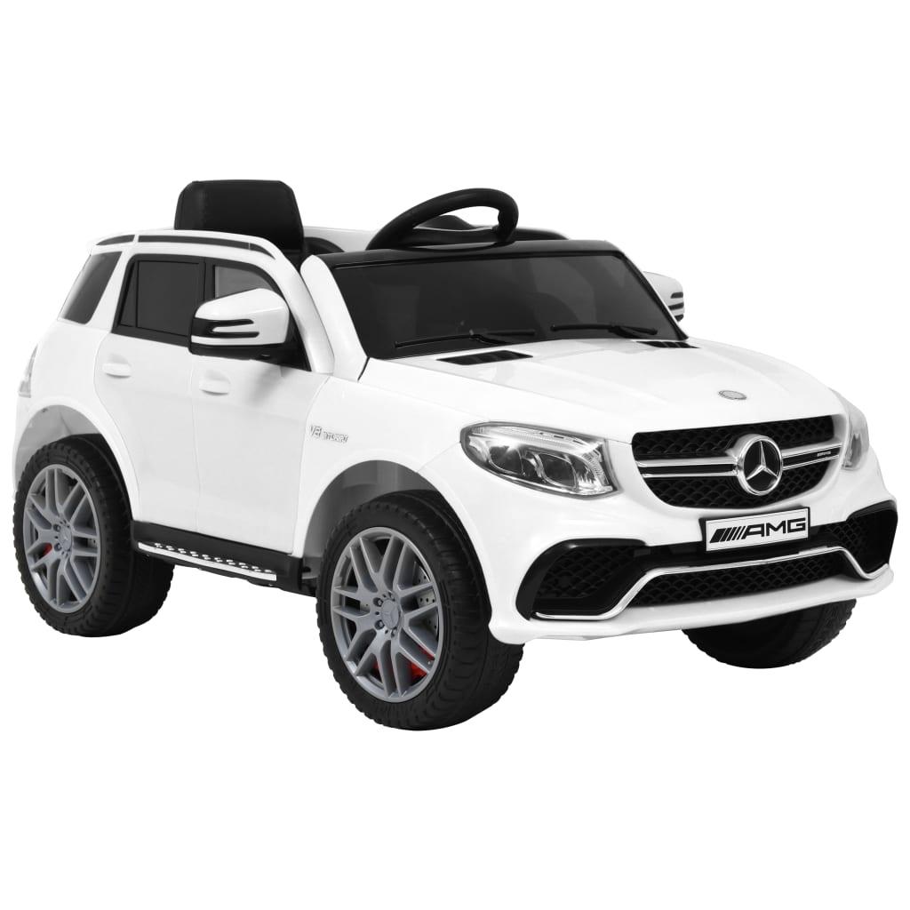 vidaXL Dětské autíčko Mercedes Benz GLE63 plastové bílé