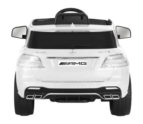 vidaXL Mașinuță copii Mercedes Benz GLE63S, alb, plastic[4/12]