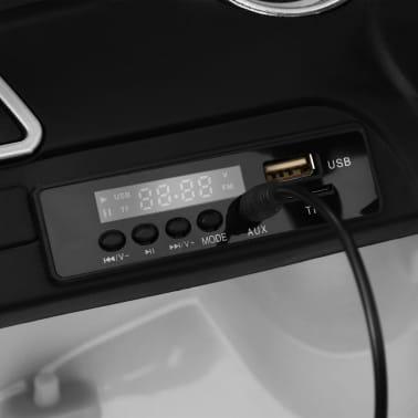 vidaXL Mașinuță copii Mercedes Benz GLE63S, alb, plastic[11/12]