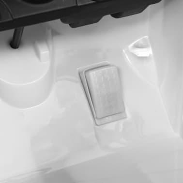 vidaXL Mașinuță copii Mercedes Benz GLE63S, alb, plastic[9/12]