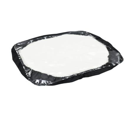 vidaXL Velkamas druskos barstytuvas, PVC ir plienas, 125x74x79cm, 45l[12/12]