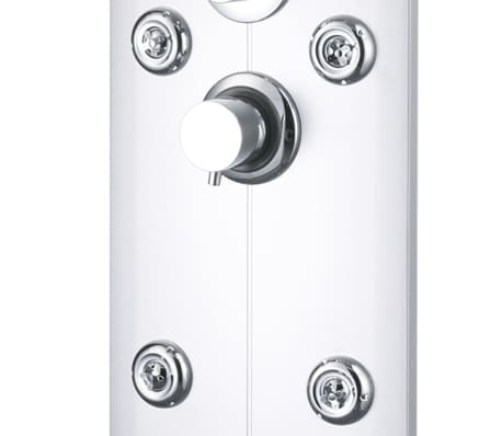 vidaXL Duschpanel 25x43x120 cm silver[7/10]