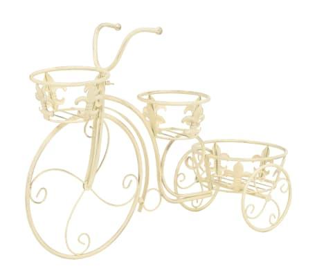 vidaXL Support de plantes sous forme de vélo Style vintage Métal[2/6]