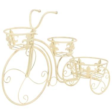 vidaXL Blumentreppe Fahrradform Vintage-Stil Metall[2/6]
