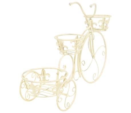 vidaXL Support de plantes sous forme de vélo Style vintage Métal[4/6]