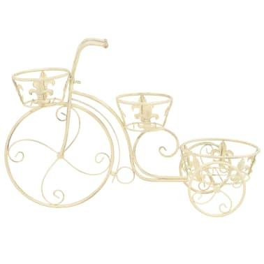 vidaXL Blumentreppe Fahrradform Vintage-Stil Metall[3/6]