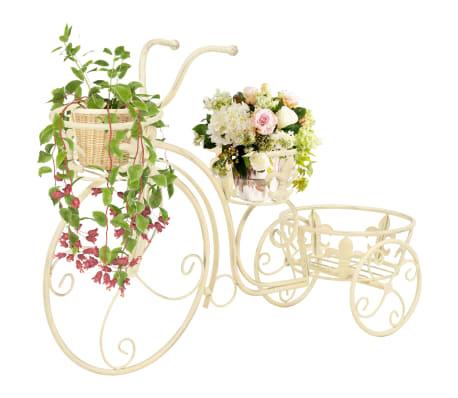 vidaXL Blumentreppe Fahrradform Vintage-Stil Metall[1/6]