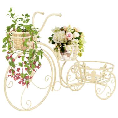 vidaXL Support de plantes sous forme de vélo Style vintage Métal[1/6]