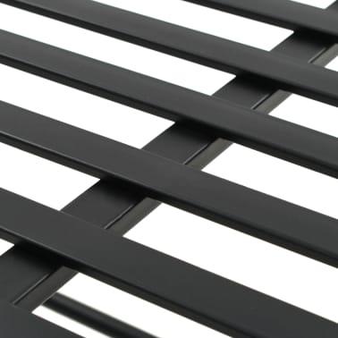 vidaXL Bench Vintage Style Metal 83x42x55 cm Black[6/7]