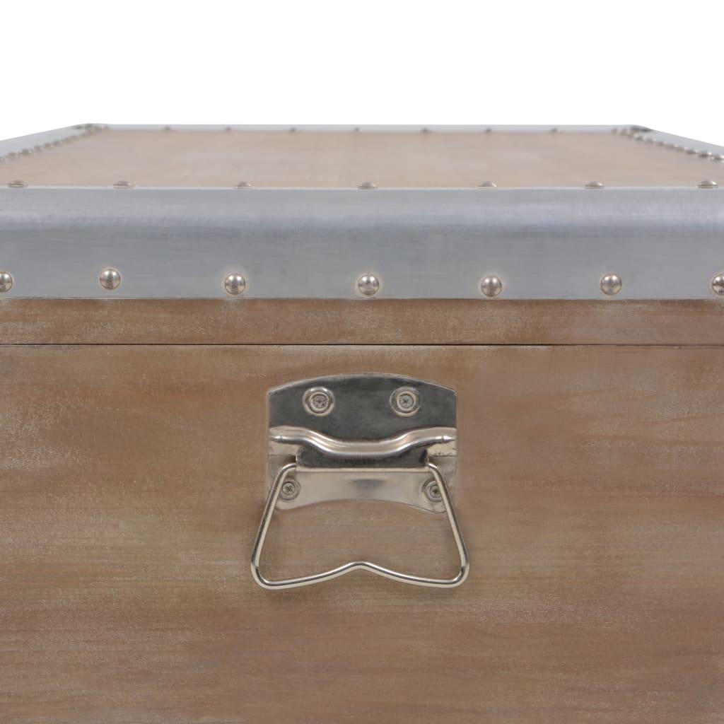 Hoiukast, kuusepuit, 91 x 52 x 40 cm, pruun