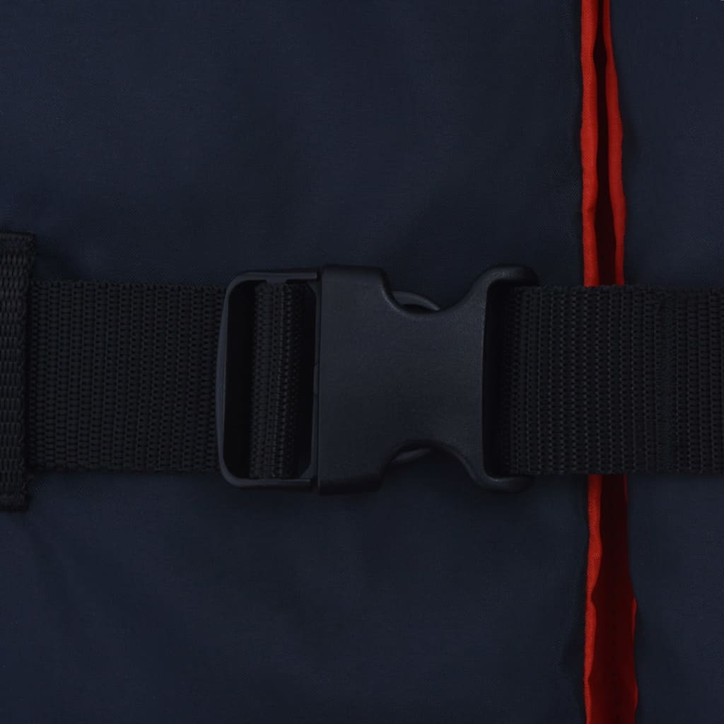 vidaXL Zwemvesten 50 N 90+ kg marineblauw 4 st