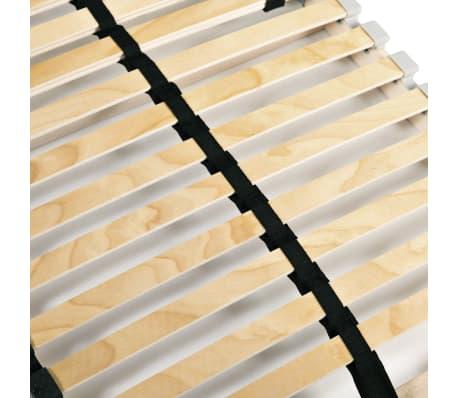 vidaXL Sommier à lattes avec 28 lattes 7 zones 70 x 200 cm[5/7]