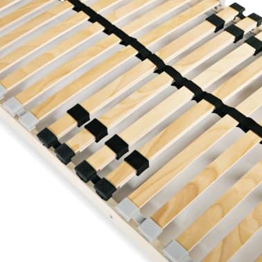 vidaXL Sommier à lattes avec 28 lattes 7 zones 80 x 200 cm[4/7]