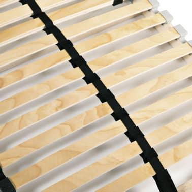 vidaXL Sommier à lattes avec 28 lattes 7 zones 90 x 200 cm[5/7]