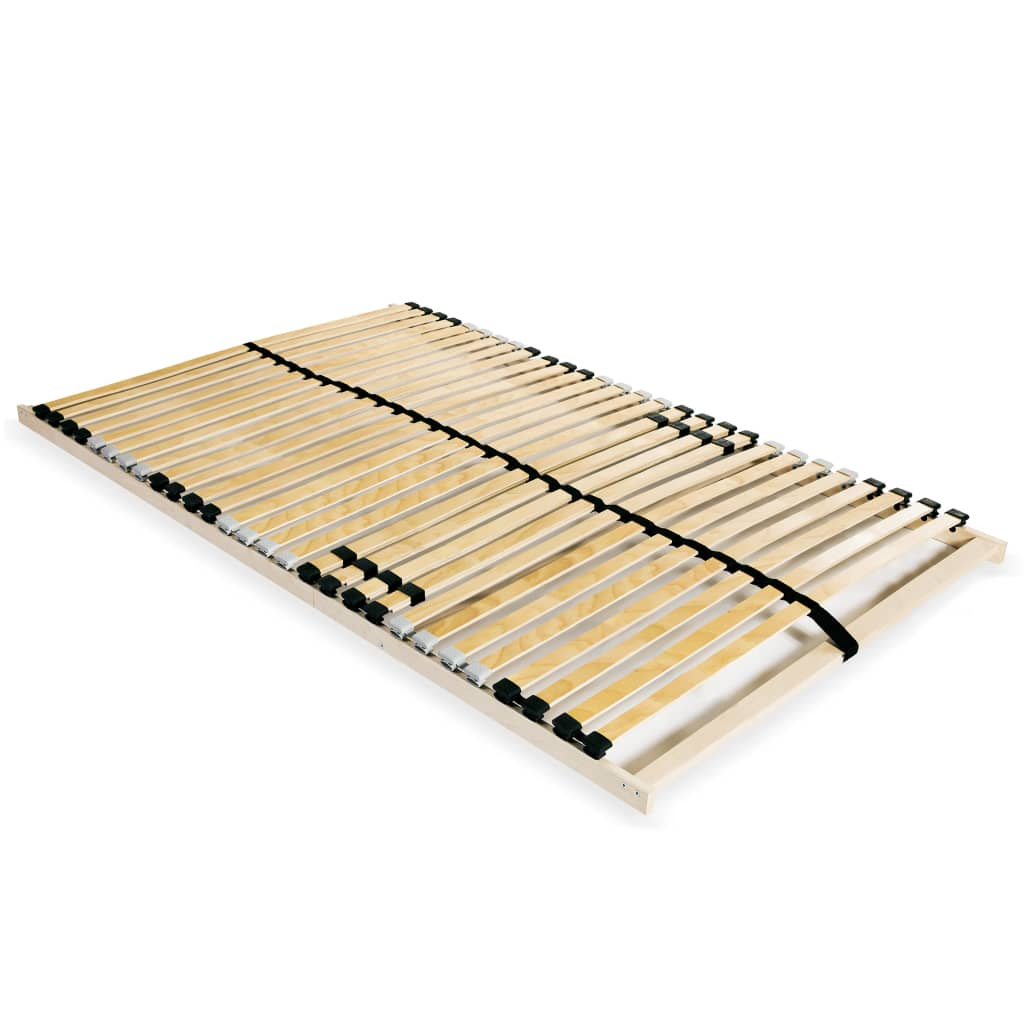 Lamelový rošt postele s 28 lamelami 7 zón 100 x 200 cm