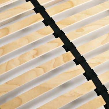 vidaXL Grotelės lovai su 28 lentjuostėmis, 7 zonos, 100x200cm[4/7]