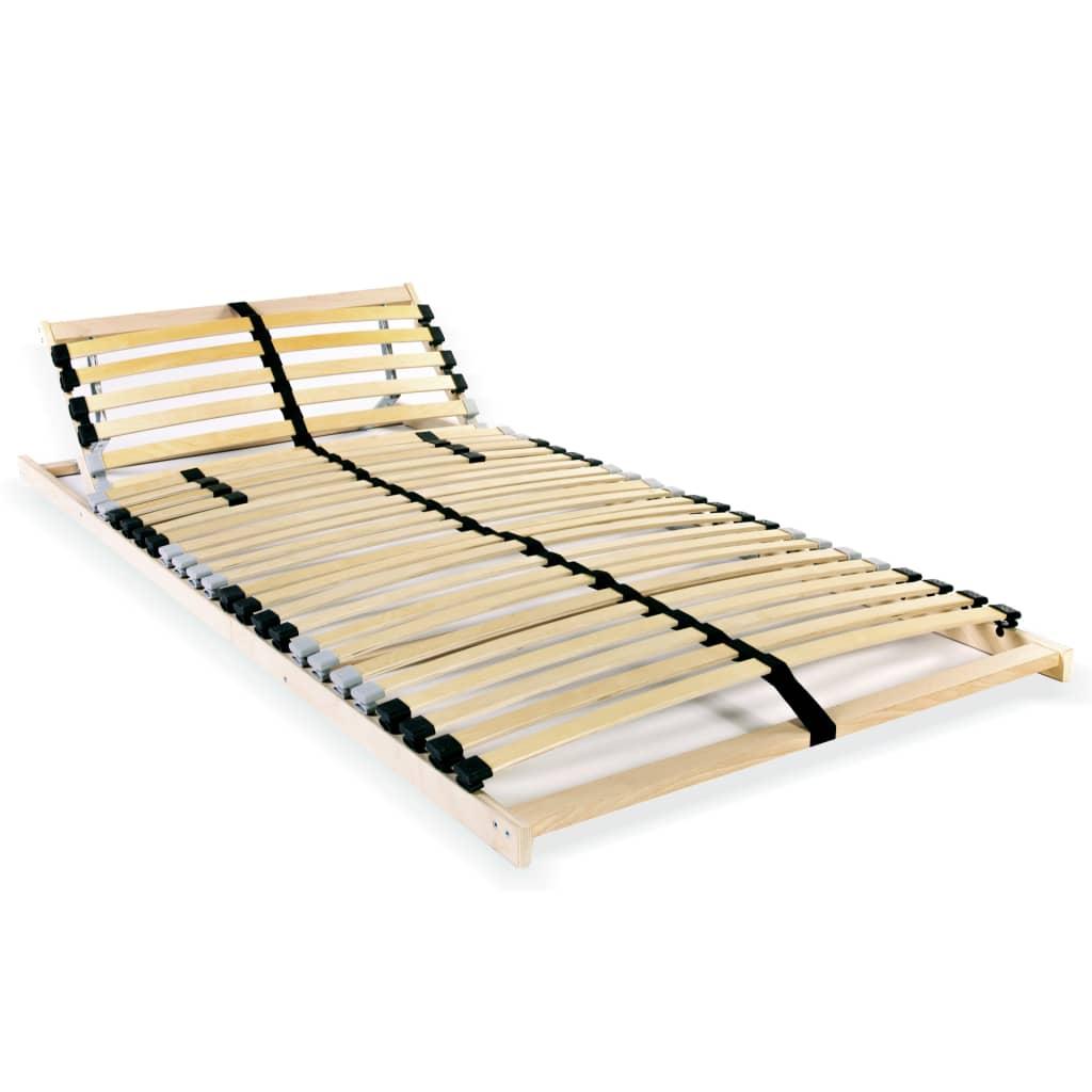Lamelový rošt postele s 28 lamelami 7 zón 80 x 200 cm