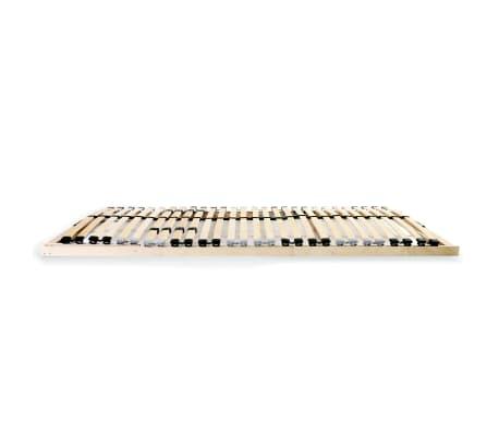 vidaXL Grotelės lovai su 28 lentjuostėmis, 7 zonos, 100x200cm, FSC[3/7]