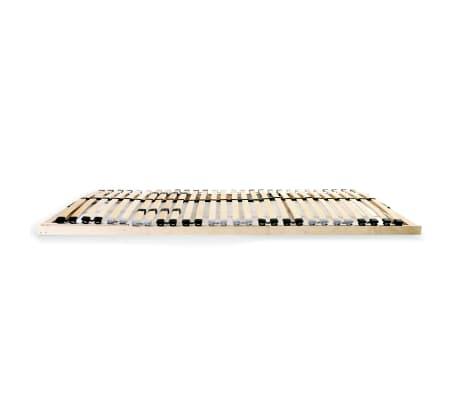 vidaXL Grotelės lovai su 28 lentjuostėmis, 7 zonos, 120x200cm, FSC[3/7]
