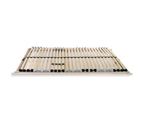 vidaXL Grotelės lovai su 28 lentjuostėmis, 7 zonos, 70x200cm, FSC[3/8]
