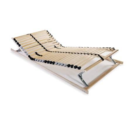 vidaXL voodi aluspõhi, 28 liistu, 7 piirkonda, 90 x 200 cm FSC[1/8]