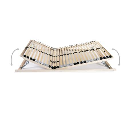 vidaXL Letveno dno za posteljo 28 letvic 7 con 90x200 cm FSC[2/8]