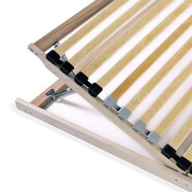 vidaXL voodi aluspõhi, 28 liistu, 7 piirkonda, 90 x 200 cm FSC[7/8]