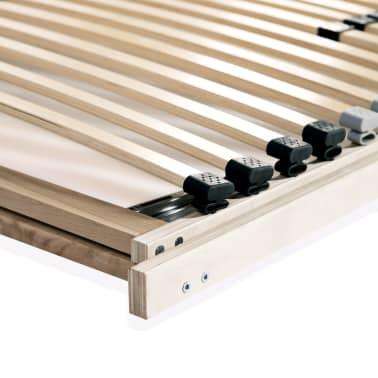 vidaXL voodi aluspõhi, 28 liistu, 7 piirkonda, 90 x 200 cm FSC[8/8]
