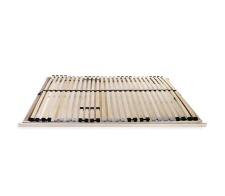 vidaXL Stelaż do łóżka z 28 listwami, drewno FSC, 7 stref, 100x200 cm[3/8]