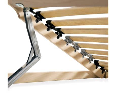 vidaXL Stelaż do łóżka z 28 listwami, drewno FSC, 7 stref, 100x200 cm[6/8]