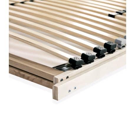 vidaXL Stelaż do łóżka z 28 listwami, drewno FSC, 7 stref, 100x200 cm[8/8]
