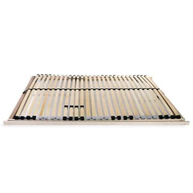 vidaXL Slatted Bed Base with 28 Slats 7 Zones 100x200 cm FSC[3/8]