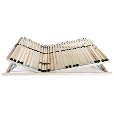 vidaXL Slatted Bed Base with 28 Slats 7 Zones 100x200 cm FSC[4/8]
