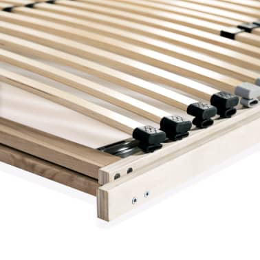 vidaXL Slatted Bed Base with 28 Slats 7 Zones 100x200 cm FSC[8/8]