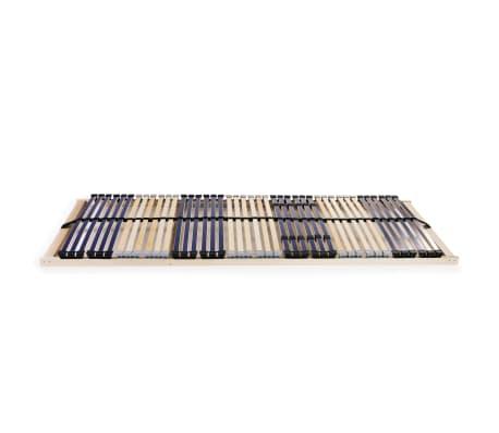 vidaXL Grotelės lovai su 42 lentjuostėmis, 7 zonos, 80x200cm, FSC[2/7]