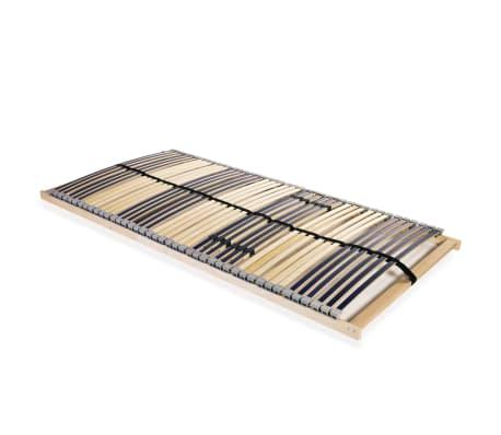 vidaXL lippidega voodi aluspõhi, 42 liistu, 7 piirkonda, 140 x 200 cm
