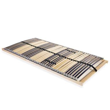 vidaXL Grotelės lovai su 42 lentjuostėmis, 7 zonos, 140x200cm[1/7]