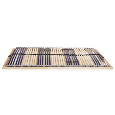 vidaXL Grotelės lovai su 42 lentjuostėmis, 7 zonos, 140x200cm[2/7]