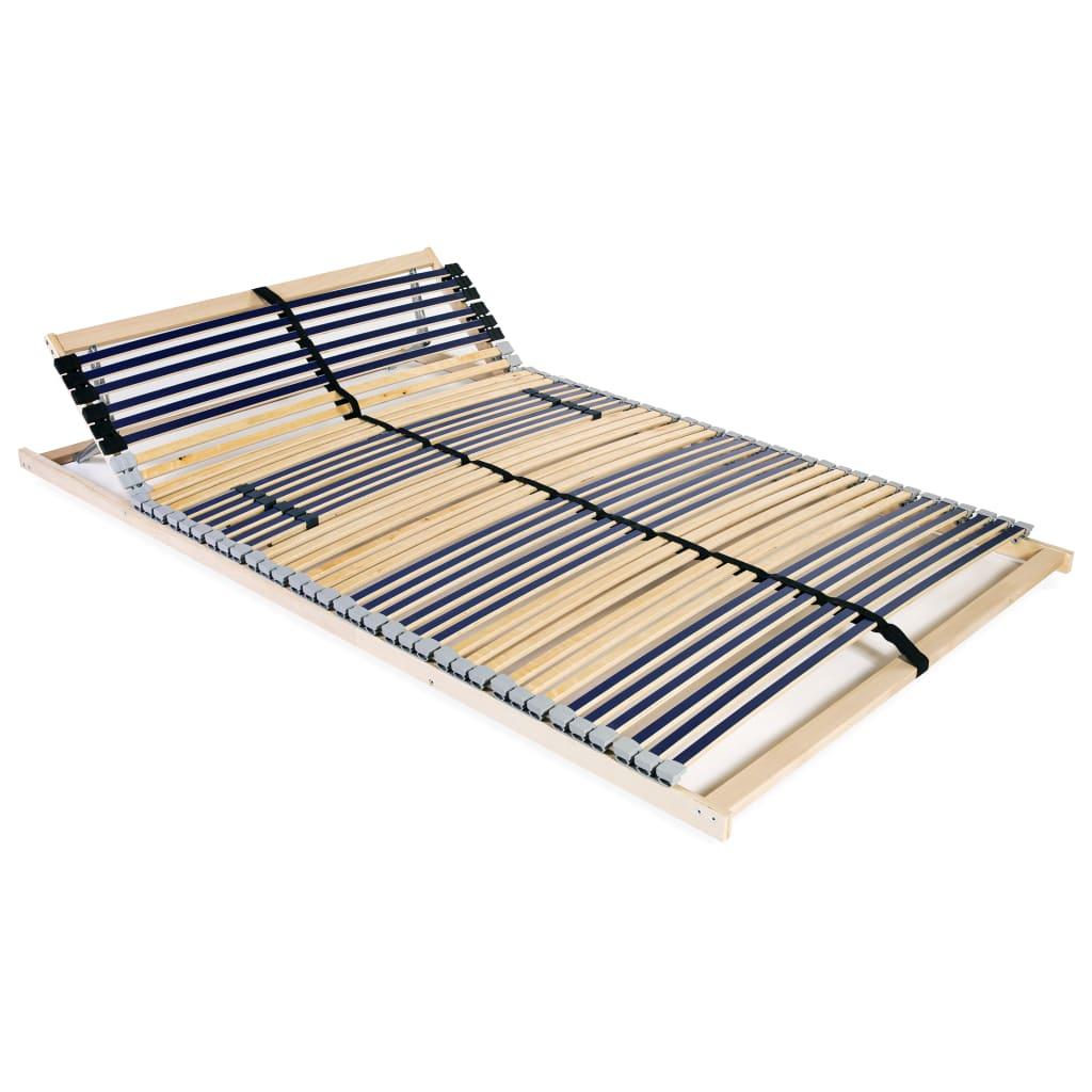 Lamelový rošt postele se 42 lamelami 7 zón 100 x 200 cm
