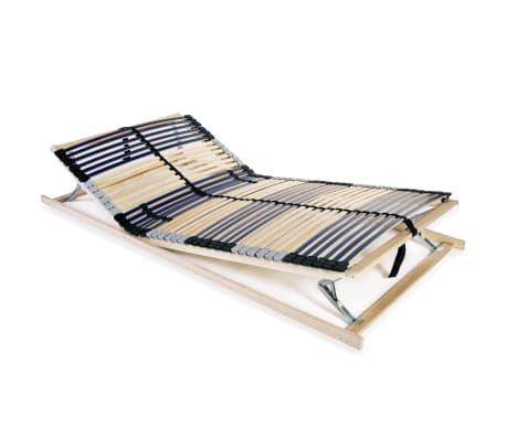 Vidaxl Stelaż Do łóżka Z 42 Listwami Drewno Fsc 7 Stref 120x200 Cm