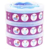 vidaXL Cassetes recarga p/ Sangenic TEC Diaper Twisters MK3/4/5 3 pcs