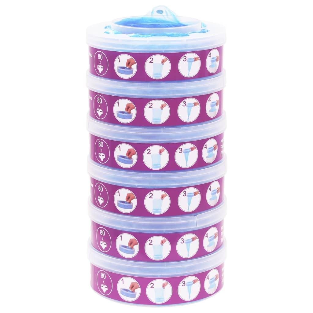Afbeelding van vidaXL Navulcassette voor Sangenic TEC Diaper Twisters MK3/4/5 6 st