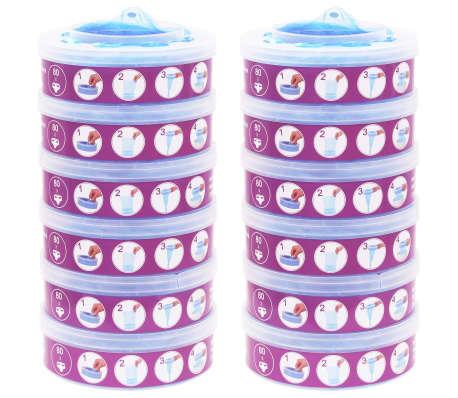 vidaXL Cassettes recharge à Sangenic TEC Diaper Twisters MK3/4/5 12pcs[1/6]